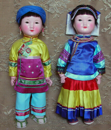 Chinese Character dolls