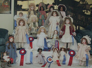 18 Dolls with Awards
